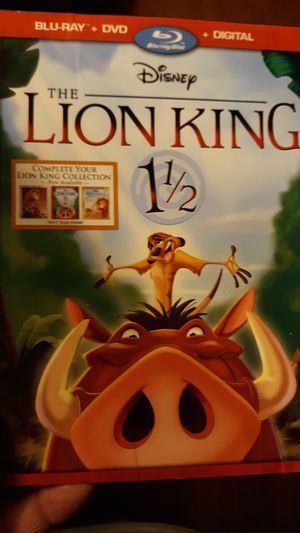The Lion king 1 1/2 for Sale in Odessa, TX