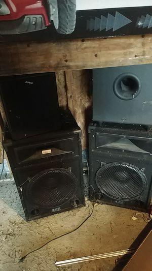 DJ subwoofer equipment for Sale in Pittsburgh, PA