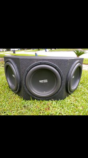 3 12s RE sc with probox box for Sale in Humble, TX