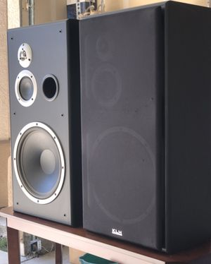 KLH best sound quality speakers 250watts for Sale in Elk Grove, CA