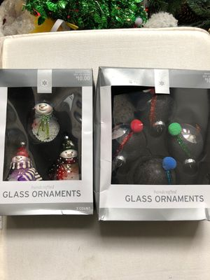 Christmas Glass ornaments for Sale in Stafford Township, NJ