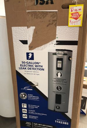 Water heater 50 gallon for Sale in El Paso, TX