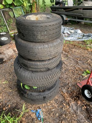 Trailer tires and rims for Sale in Margate, FL