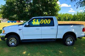 🍏🟢💲1,OOO For sale URGENTLY this Beautiful💚2002 Ford F150 nice Family truck XLT Super Crew Cab 4-Door Runs and drives very smooth V8🟢🍏 for Sale in Fairfield, CT
