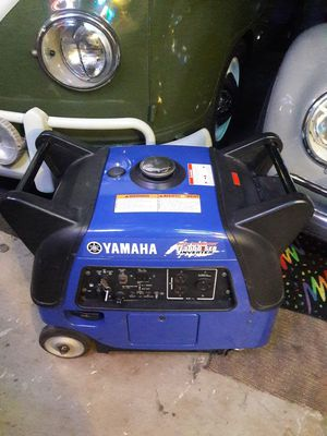 YAMAHA EF3000 INVERTER PRICE IS FIRM NO LOWBALLERS NO trades for Sale in Fontana, CA