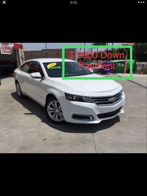 2016 Chevy Impala $ 2500 Down Payment for Sale in Nashville, TN
