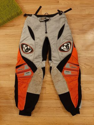 THOR MX Core 5 Red Black Motocross Dirt Bike Pants 34 Mens for Sale in Westminster, CO