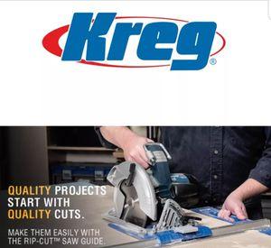 KREG TOOL KMA2685 Rip-Cut Saw Guide NEW for Sale in Sun City, AZ