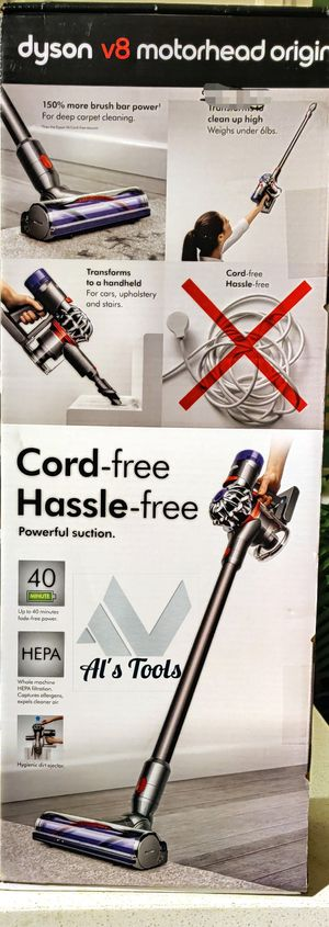 Dyson V8 Motorhead cordless vacuum with 40min run time for Sale in Paramount, CA