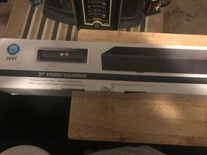 37 inch sound bar for Sale in Pico Rivera, CA