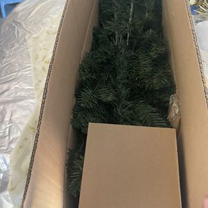 6ft Christmas Tree Plus Ordainments for Sale in Tracy, CA