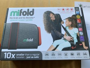 Mifold Grab and Go Car Booster Seat - Portable NEW for Sale in Portland, OR