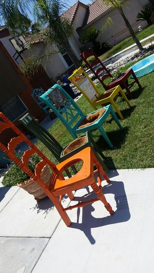 Decorative Garden chairs for Sale in Porterville, CA