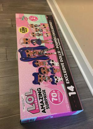 Lol surprise doll 70+ surprise for Sale in Woodridge, IL