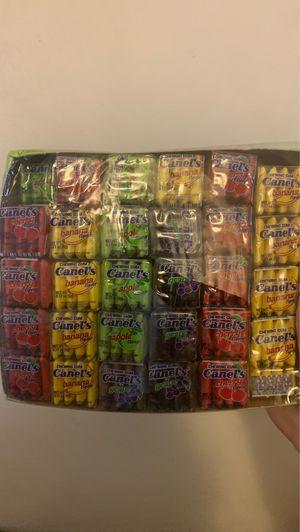 240 MINI PIECES OF GUM MEXICAN CANDY for Sale in Montebello, CA