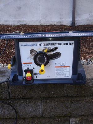 "10"" 13 Amp. Industrial Table Saw for Sale in Renton, WA"