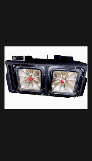 Kicker L5 Two 12's plus kicker amplifier for Sale in El Monte, CA