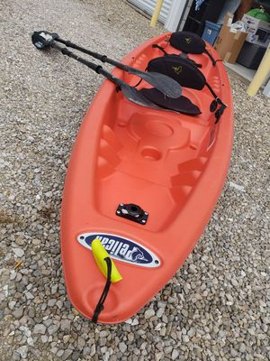 Pelican 2 seater kayak. With 2 Magellan oars. for Sale in Rolla, MO