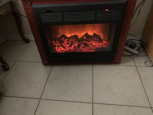 For sale electric chimney for Sale in Tampa, FL