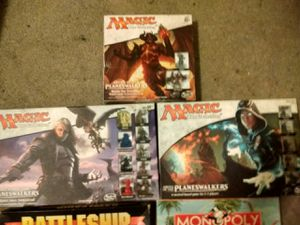 3 magic the gathering board games for Sale in Charlotte, NC