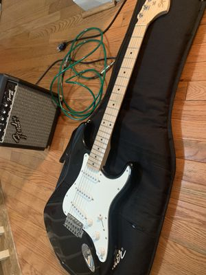 Electric guitar with amplifier for Sale in Warrenton, VA
