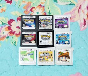 HUGE LOT OF 3DS/DS GAMES! Nintendo pokemon platinum Mario yoshi bundle for Sale in The Bronx, NY