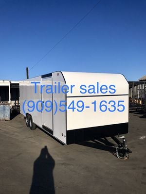 ** instock ** 8.5x20x7 enclosed trailer for Sale in Rancho Cucamonga, CA