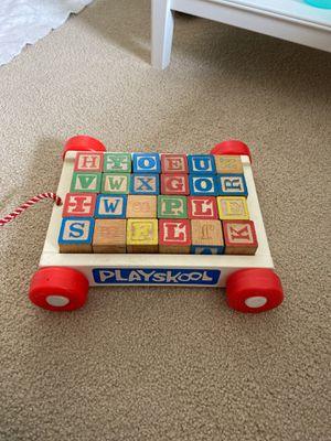 Playskool letter wagon for Sale in Hayward, CA