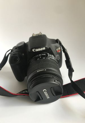 Canon Eos Rebel T5 with 18-55 mm Lense for Sale in Pasadena, CA