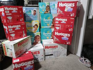 Huggies and Pampers for Sale in Vancouver, WA