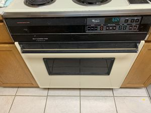 ALL Whirlpool Electric drop in stove, over the stove microwave and dishwasher. for Sale in Kennewick, WA