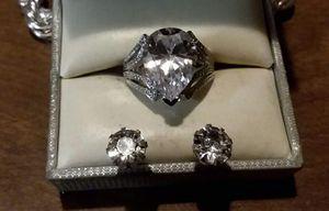 New Ring/Earrings Jewelery Set. for Sale in Pawtucket, RI