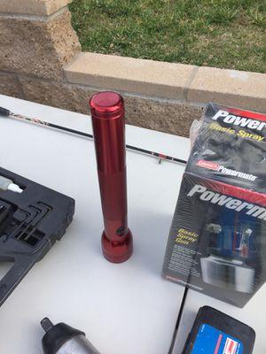"Spray gun, crew line crawler, porter cable nail gun, 1/2"" impact gun w/sockets, for Sale in Bonita, CA"