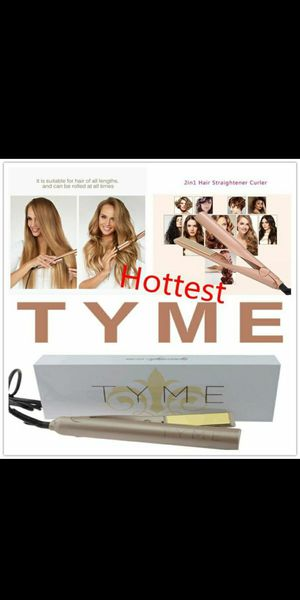 New Sealed TYME iron pro curling iron straightener for Sale in Gilbert, AZ