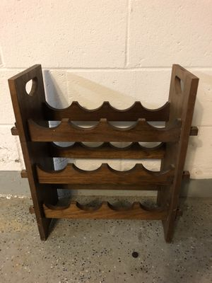 Rustic Wine Rack for Sale in Ruffs Dale, PA