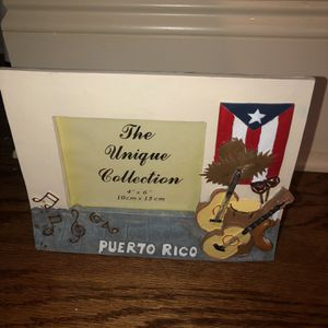 Puerto Rico Photo Frame for Sale in Loganville, GA