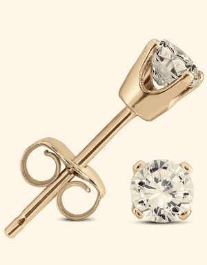 See Photos. Brand New. Pair diamond stud .40 Pair yellow Gold screwback VS Round Brilliant Cut Genuine Diamond Stud Earring In 14K Gold. Very Live for Sale in Weehawken, NJ