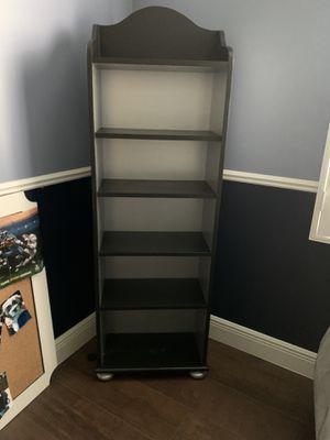 Black & Silver 6 shelve Bookshelves for Sale in Fort Lauderdale, FL