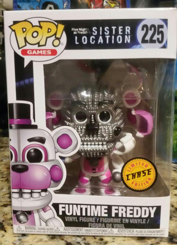 Funko Pop! FNAF Funtime Freddy Chase