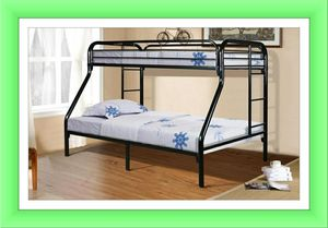 Twin full bunk bed frame new for Sale in Hillcrest Heights, MD