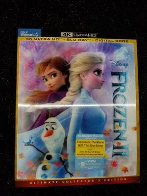 Frozen 2 4K Ultra HD + digital copy for Sale in Aurora, CO