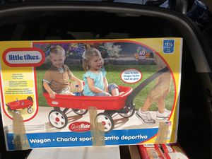 New little tikes red sport wagon for Sale in San Tan Valley, AZ