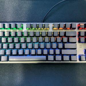 Tecware Phantom 87 Key Mechanical Keyboard, RGB led, Outemu Blue Switch For Gaming Computer Desktop PC for Sale in Orlando, FL
