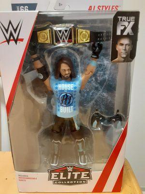 WWE AJ Styles elite 66 for Sale in San Antonio, TX