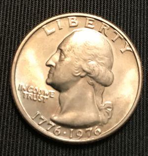 U.S coins 1976 uncirculated bicentennial quarters for Sale in Lake Wales, FL