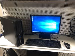 hp desktop i5 processor win 10 comes with monitor keyboard and mouse for Sale in Medford, MA