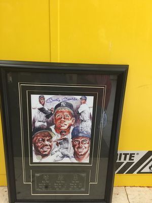 Authentic signed Yankees photos for Sale in Ashburn, VA