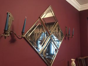 Glass mirrors (4) and Sconces (2) for Sale in Lakewood, OH
