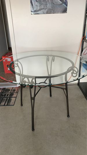 Glass Dining Table for Sale in Delano, CA
