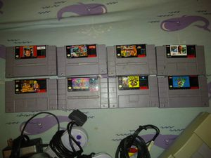 Súper nintendo .for sale only cash for Sale in Buffalo, NY
